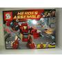 Hulk Buster Smash Vs Ultron Laboratório Lego Compatível