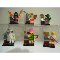 Clash Of Clans Barbaros Arqueira Goblin Mago Destruidor Lego