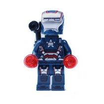 Iron Man Patriot Patriota Homem De Ferro Minifigures Cod 136