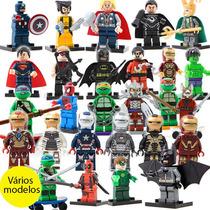 Bloco De Montar Marvel Dc Star Wars Vingadores Avengers Lego