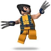 Boneco Lego Wolverine Amarelo - Compativel
