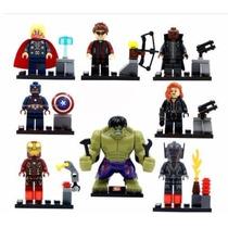 Vingadores Ultron Hulk Capitão Thor Marvel Lego Compatível