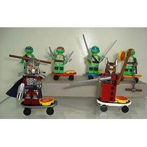 Tartarugas Ninja Donatello Leonardo Michelangelo Lego
