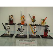 Star Wars Yoda Han Solo Capitão Rex Troppers Ackbar Lego
