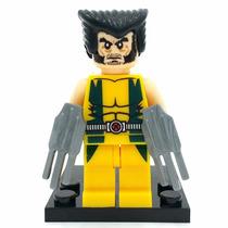 Bloco De Montar Lego Wolverine Logan X Men Marvel