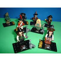 Piratas Do Caribe Jack Sparrow Angélica Blackbeard = Lego