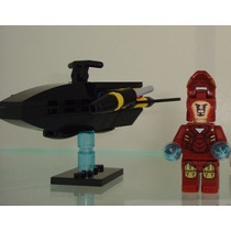 Iron Man Homem De Ferro Tony Stark Space Jet Lego