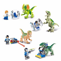 Minifiguras Similar Lego - Kit Jurassic Word Dinossauros