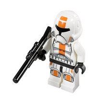 Star Wars Republic Trooper Tropa República Minifigures C 822