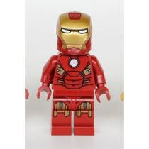 Lego Homem De Ferro Marvel Super Heroes Boneco De Montar