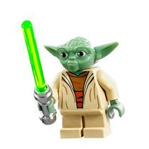 Star Wars Mestre Yoda Guerra Nas Estrelas Minifigures Cd 809