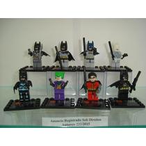 Batman Begins Ice Mr Freeze Attack 6 Versões + Joker E Robin