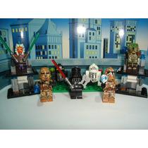Darth Vader Star Wars Ahsoka Tano R2q5 R8v2 Troppers = Lego