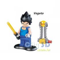 Bonecos Dragon Ball Z - Coleção 8 Bonecos - Barato! Lego