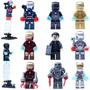 Homem De Ferro Iron Man Lego Compatível Tony Stark Armaduras
