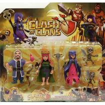 Bonecos Clash Of Clans Coleção Com 8 Personagens