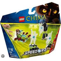 Brinquedo Lego Web Dash Legends Of Chima 78 Peças
