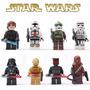Bonecos Similar Lego Star Wars Darth Coleção 8 Personagens