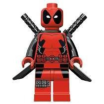 Deadpool X-men Marvel Avengers Lego Compatível Cod. 023 Bbt