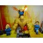 Quarteto Fantástico Fantastic Four 4 Bonecos = Lego
