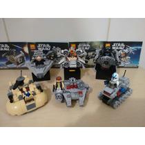 Lego Star Wars 6 Naves Microfighters Luke
