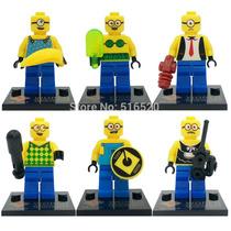 Lembrança Para Festa De Aniversário Menino- Lego Dos Minions