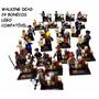 The Walking Dead 24 Bonecos Lego Compatível Coleção Figuras