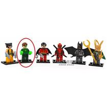 Lanterna Verde Dc Lego Playmobil Bloco D Montar Batman Robin