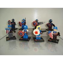 Capitão América Marvel Universe Avengers American Dream Lego