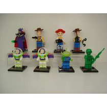 Toy Story Bonecos = Lego Woody Buzz Lightyer Jessie Zurg