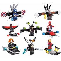 Super Heroes Marvel - Homem De Ferro, Homem Aranha, Iron Man