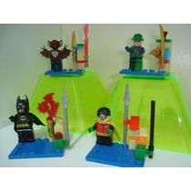 Joker Batman Man Bat Morcego Humano Robin = Lego Jlu