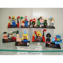 Bob Esponja Sirigueijo Patrick Mr Puff Lego Compatível