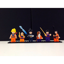 Kit Bonecos Lego Dragon Ball Z - 6 Personagens