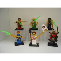Ninja Go Cole Griffin Turner Jay Kai Lloyd Nya Lego