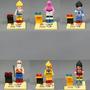 Conjunto Minifiguras - Minifigures Dragon Ball - Kit 6 Pcs
