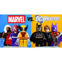 Marvel E X-men - Magneto Wolverine Batman - Lego Compatível