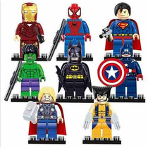 Lego Marvel Super Heroes Hulk Batman Iron Man Capitão Améric