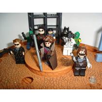 Gambit Black Mask Robin Batman Exterminador Do Futuro Lego