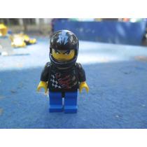 Lego City Minifigura Motoqueiro C Capacete