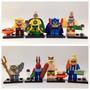 Tipo Lego - Kit 8 Bonecos - Bob Esponja
