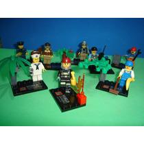 Lego City Policial Bombeiro Aviador Marinheiro Segurança