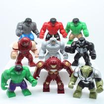 Mini Figuras Grandes Lego - Duende Verde, Venom, Caça Hulk