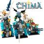 Legend Of Chima Ice Megalote 10 Minifigs + Eagle Beast 70124