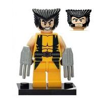 Wolverine X-men Marvel Avengers Lego Compatível Cod. 010 Bbt