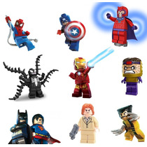 2 Minifiguras A Escolher Lego Compatível Super Heroes Bkbfg2