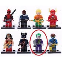 Coringa Dc Lego Playmobil Bloco De Montar Batman Flash Robin