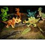 Jurassic World Bonecos = Lego Kit 6 Dinossauros Blocos