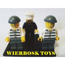 Coleção Lego City Set 7899 - Bonecos Policia E Ladrões