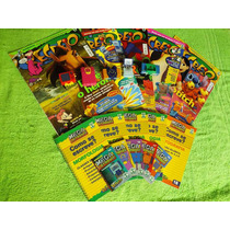 5 Bonecos Revista Recreio Coleção Completa Mega Letronix 3